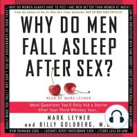 Why Do Men Fall Asleep After Sex