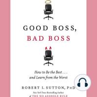 Good Boss, Bad Boss