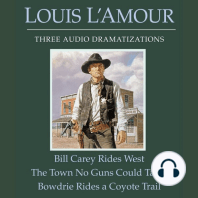 Bill Carey Rides West | Town No Guns Could Tame, The | Bowdrie Rides a Coyote Trail