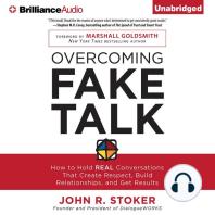 Overcoming Fake Talk