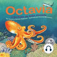 Octavia y su nube de tinta morada