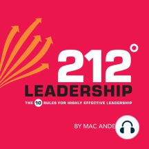 212° Leadership: The 10 Rules for Highly Effective Leadership
