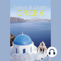 Listen & Learn Greek