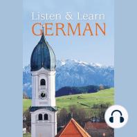 Listen & Learn German