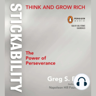 """Think and Grow Rich """"Stickability"""""""