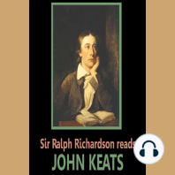 Sir Ralph Richardson reads Keats