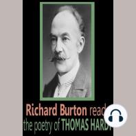Richard Burton reads the poetry of Thomas Hardy
