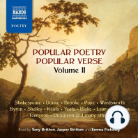 Popular Poetry, Popular Verse – Volume II