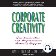 Corporate Creativity