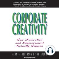Corporate Creativity