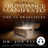 The Abundance Manifesto: The 10 Principles