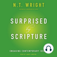 surprised by scripture wright n t