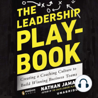 The Leadership Playbook: Creating a Coaching Culture to Build Winning Business Teams