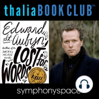 Edward St. Aubyn Lost for Words