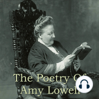 The Poetry Of Amy Lowell