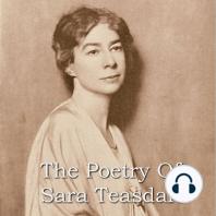 The Poetry Of Sara Teasdale