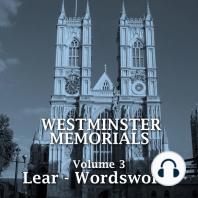 Westminster Memorials Volume 3