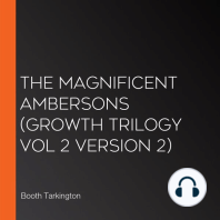 Magnificent Ambersons, The (Growth Trilogy Vol 2 Version 2)