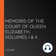Memoirs of the Court of Queen Elizabeth, Volumes I & II