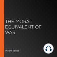 The Moral Equivalent of War
