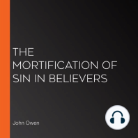 The Mortification of Sin in Believers