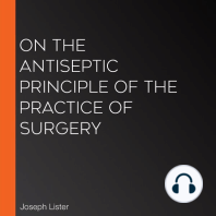 On the Antiseptic Principle of the Practice of Surgery
