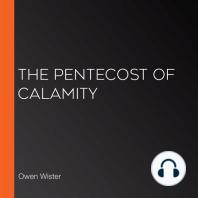 The Pentecost of Calamity