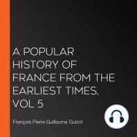 A Popular History of France from the Earliest Times, vol 5