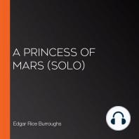 A Princess of Mars (solo)