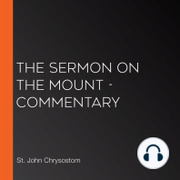 Sermon on the Mount, The - Commentary