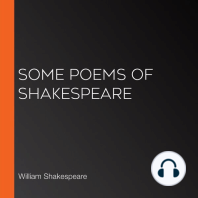 Some Poems of Shakespeare