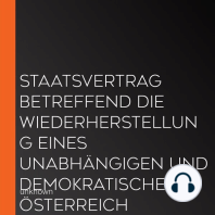 Staatsvertrag betreffend die Wiederherstellung eines unabhängigen und demokratischen Österreich