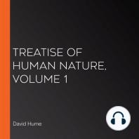 Treatise Of Human Nature, Volume 1