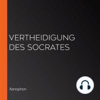 Vertheidigung des Socrates