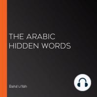 The Arabic Hidden Words