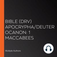 Bible (DRV) Apocrypha/Deuterocanon