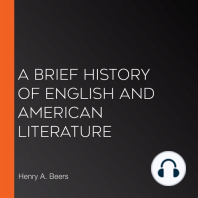 A Brief History of English and American Literature