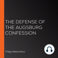 The Defense of the Augsburg Confession