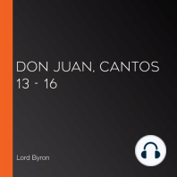 Don Juan, Cantos 13 - 16