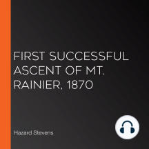 First Successful Ascent of Mt. Rainier, 1870