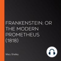 Frankenstein; or The Modern Prometheus (1818)
