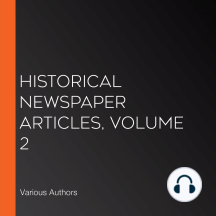 Historical Newspaper Articles, Volume 2