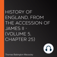 History of England, from the Accession of James II - (Volume 5, Chapter 25)