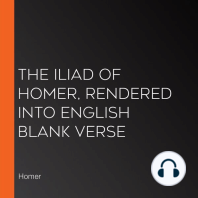 The Iliad of Homer, Rendered into English Blank Verse