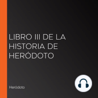Libro III de la Historia de Heródoto