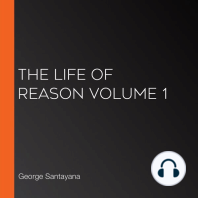 The Life of Reason volume 1