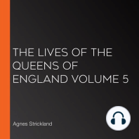 The Lives of the Queens of England Volume 5