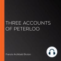 Three Accounts of Peterloo