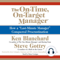 The On-Time, On-Target Manager