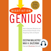 Negotiation Genius